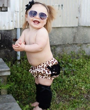 Leopard printed RuffleButts® now on sale!