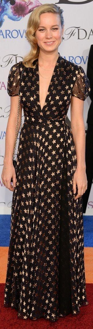 Brie Larson In Diane Von Furstenberg – 2014 CFDA Fashion Awards 02/06