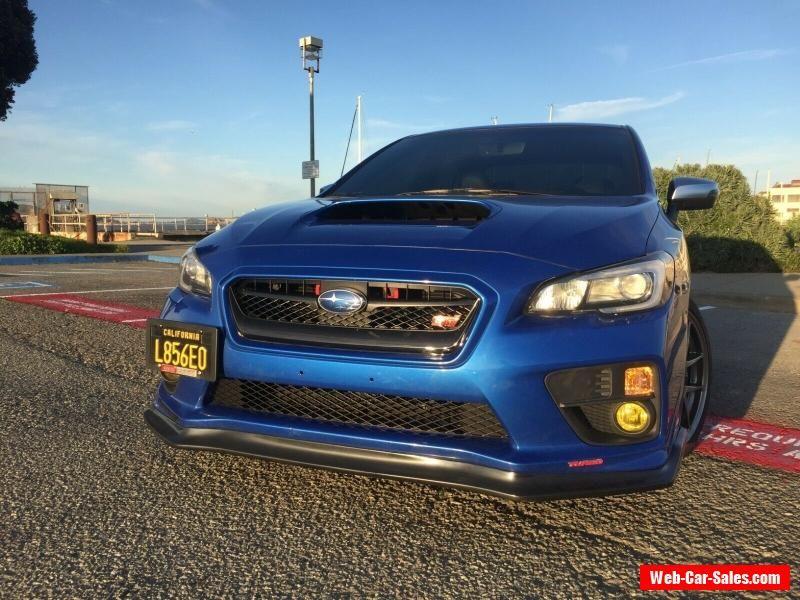 Car for Sale 2017 Subaru WRX STI Limited