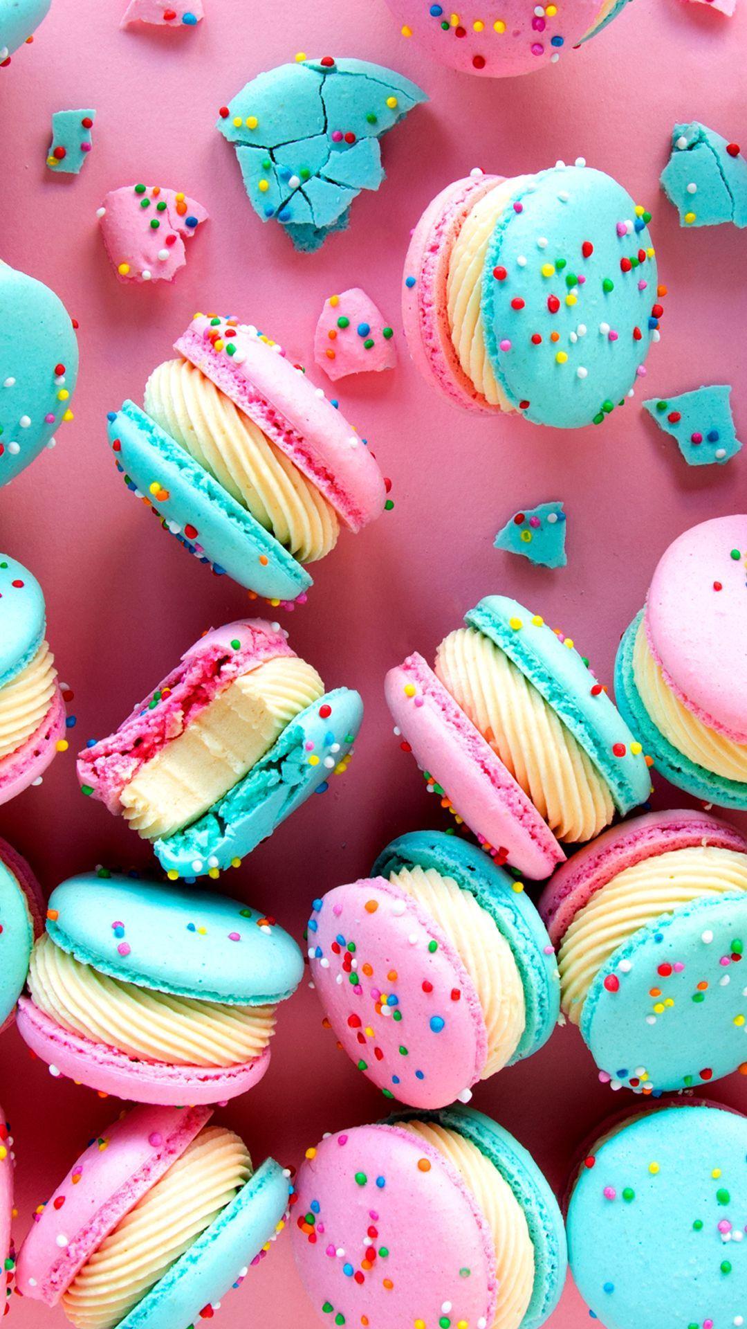 Photo of Cake Batter Macarons