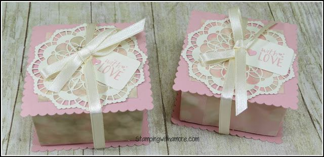 2017  VIDEO  TUTORIAL    Stampingwithamore: IT SCREAM MOTHER'S DAY! BOX