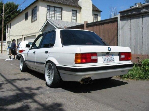 Alpine White E30 On Alpina Wheels Bmw E30 E30 Bmw