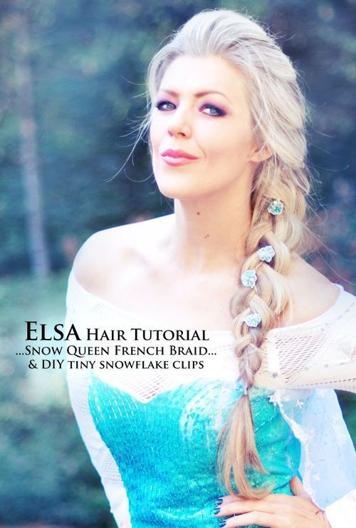 Loose side braid hairstyle for long hair