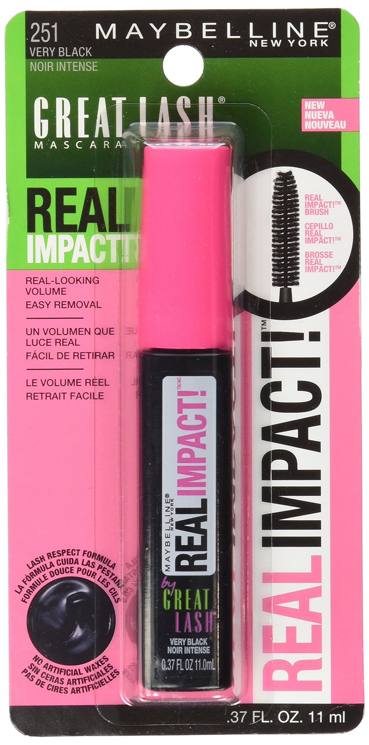 Maybelline New York Great Lash Real Impact Washable