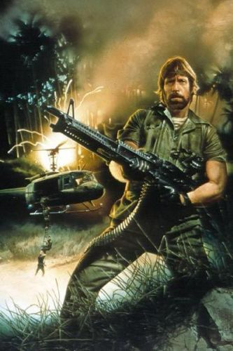 expendables 2 chuck norris Pinterest Chuck norris - missing in action poster