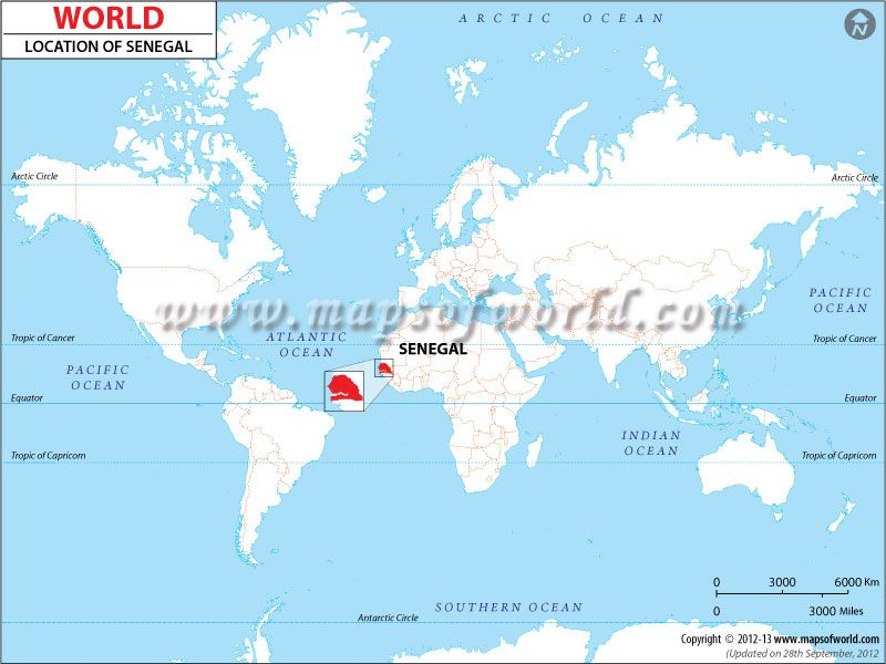 Senegal Location Map Senegal Pinterest Location map West