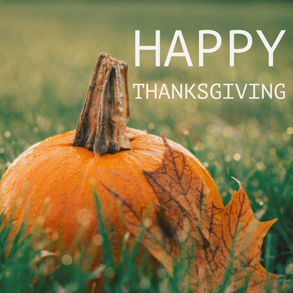 Happy Thanksgiving from ProRoofing! We hope everyone has a wonderful time spent with family and friends!