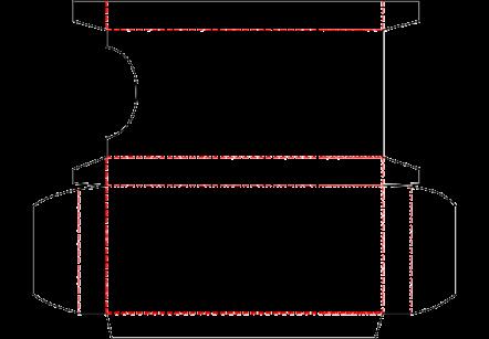 4 Pk Crayon Box Template
