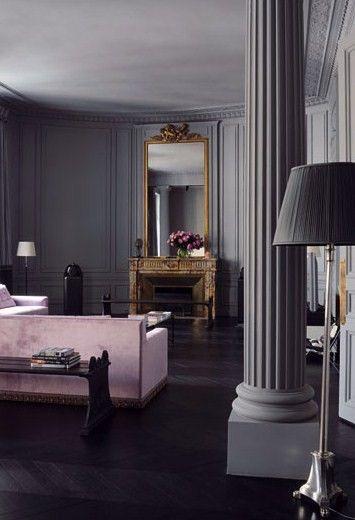 Noir Blanc Un Style Ambiance Grisee Pinterest Parisian