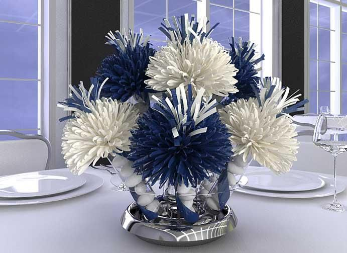 Graduation table centerpieces party ideas