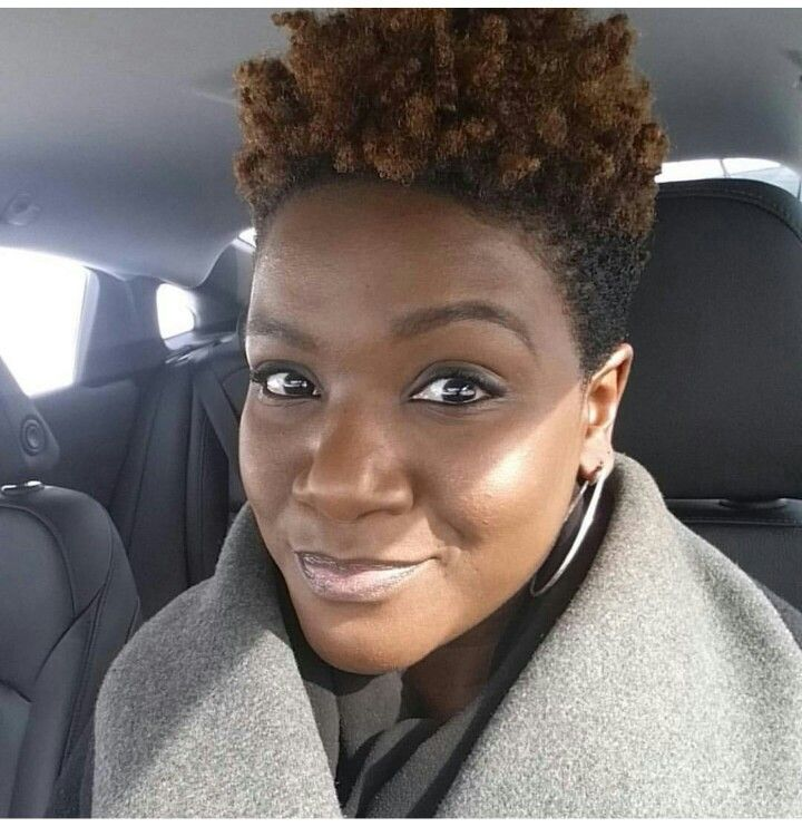 Tapered cut natural hair pinterest coupe courte afro afro et coupes cheveux courts - Coupe courte afro naturel ...