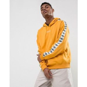 high fashion wide varieties footwear adidas Originals Adicolor TNT Tape Hoodie In Yellow BS4669 ...