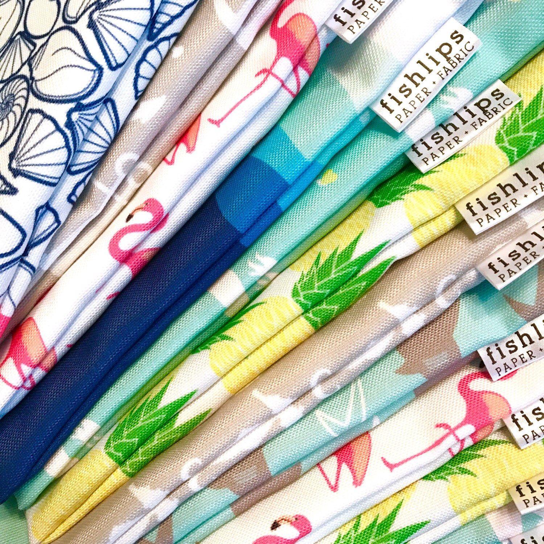 Bikini Bags  from Fish Lips Paper + Fabric