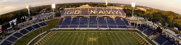 Navy Marine Corps Memorial Stadium Navy Midshipmen Stadium Navy News
