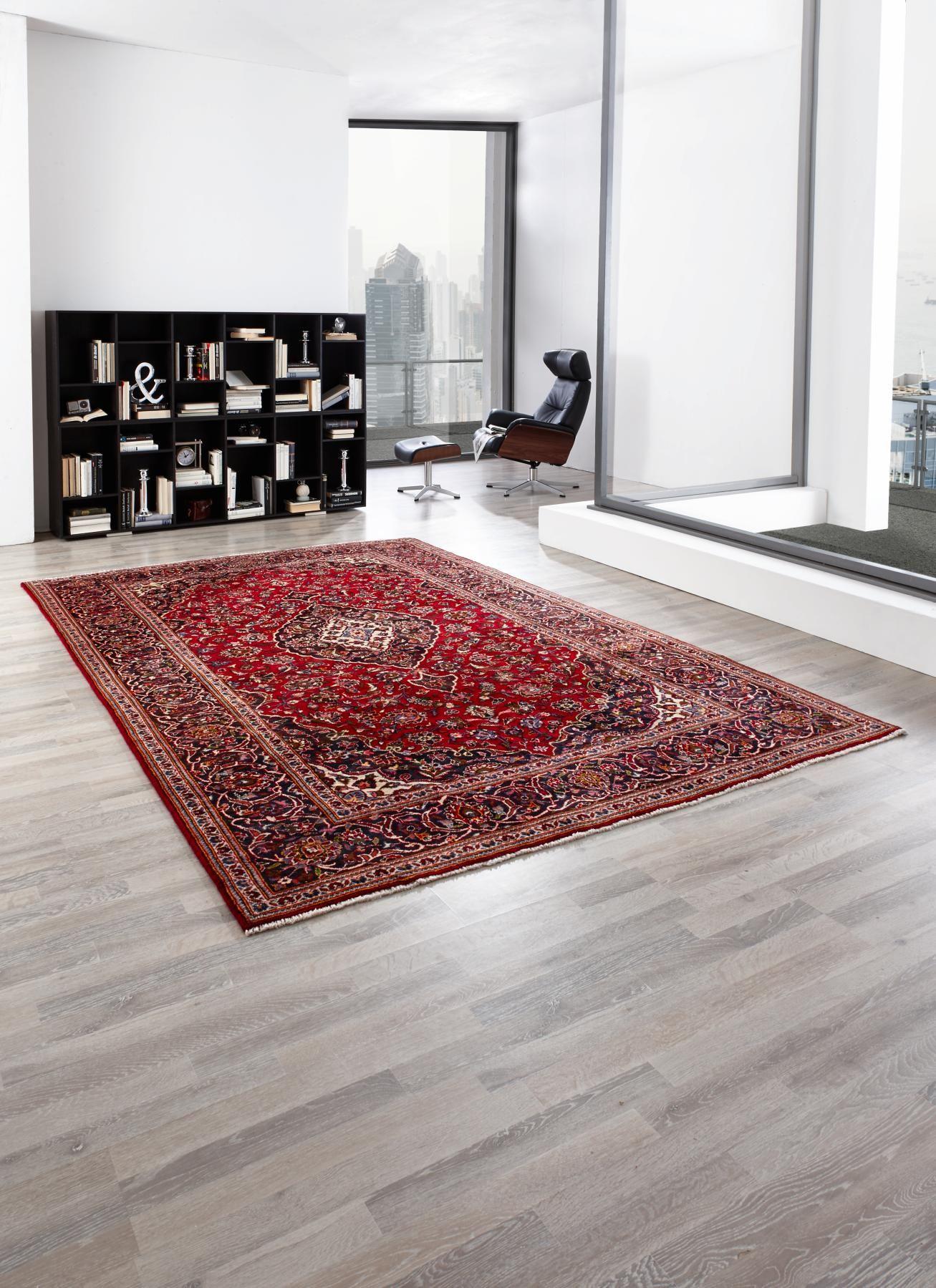 Orientteppiche Rot Mit Orientalischem Muster Handgeknüpfter Teppich Orientteppich Teppich Orient Teppich