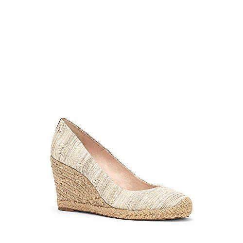 Louise et Cie Womens Magdalen Natural Almond Wedge 95M -- More info could be found at the image url.