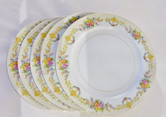 Antique Noritake 1930s Imperial China Rimmed by BonAppetitAntique  sc 1 st  Pinterest : imperial china dinnerware - pezcame.com