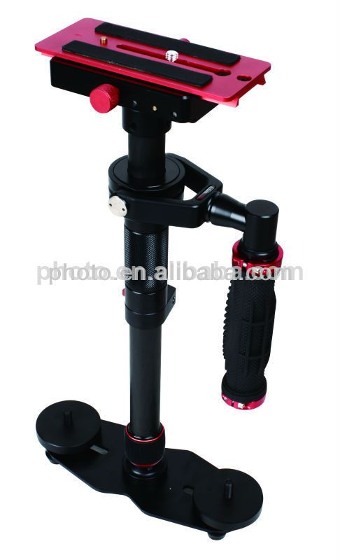 reflex camera stabilizer:  1.Carbon fiber material  2.Hand held camera stabilizer rig  3. comfortable handle design