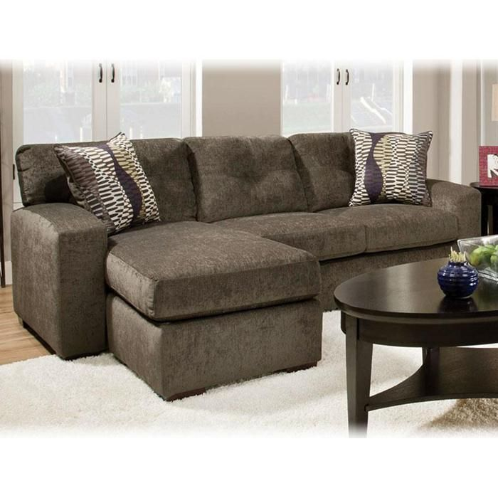 Chofa Sectional Sofa With Chaise Grey Living Room Sets Small Sectional Sofa