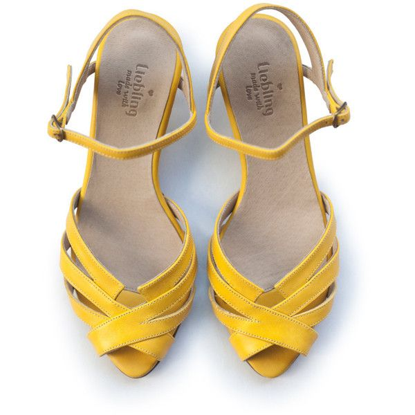 Sale 20% off! Yellow sandals, wedding sandals, women shoes