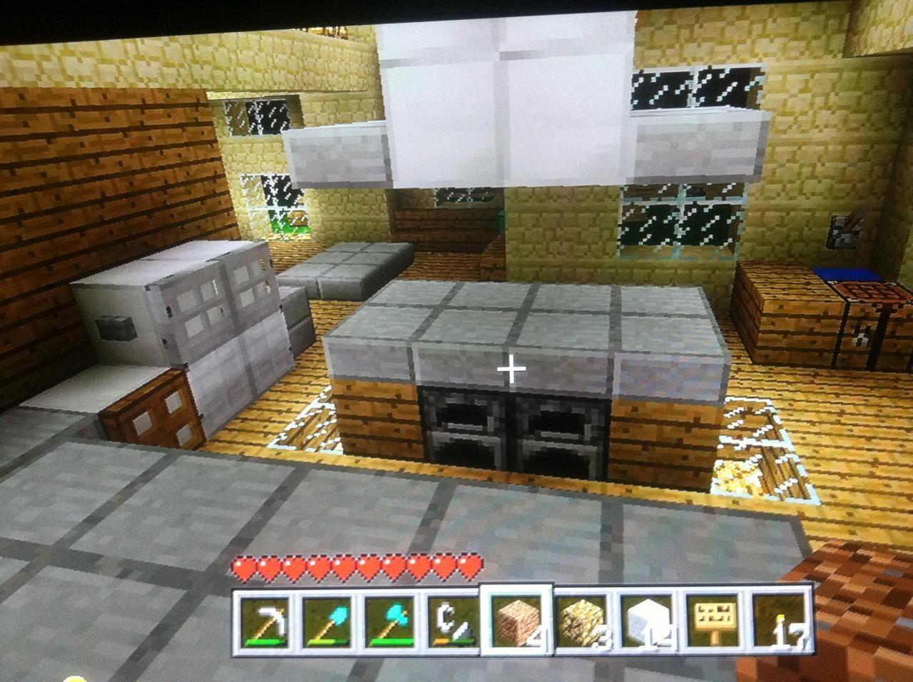 xbox 10 minecraft kitchen ideas #minecraftfurniture