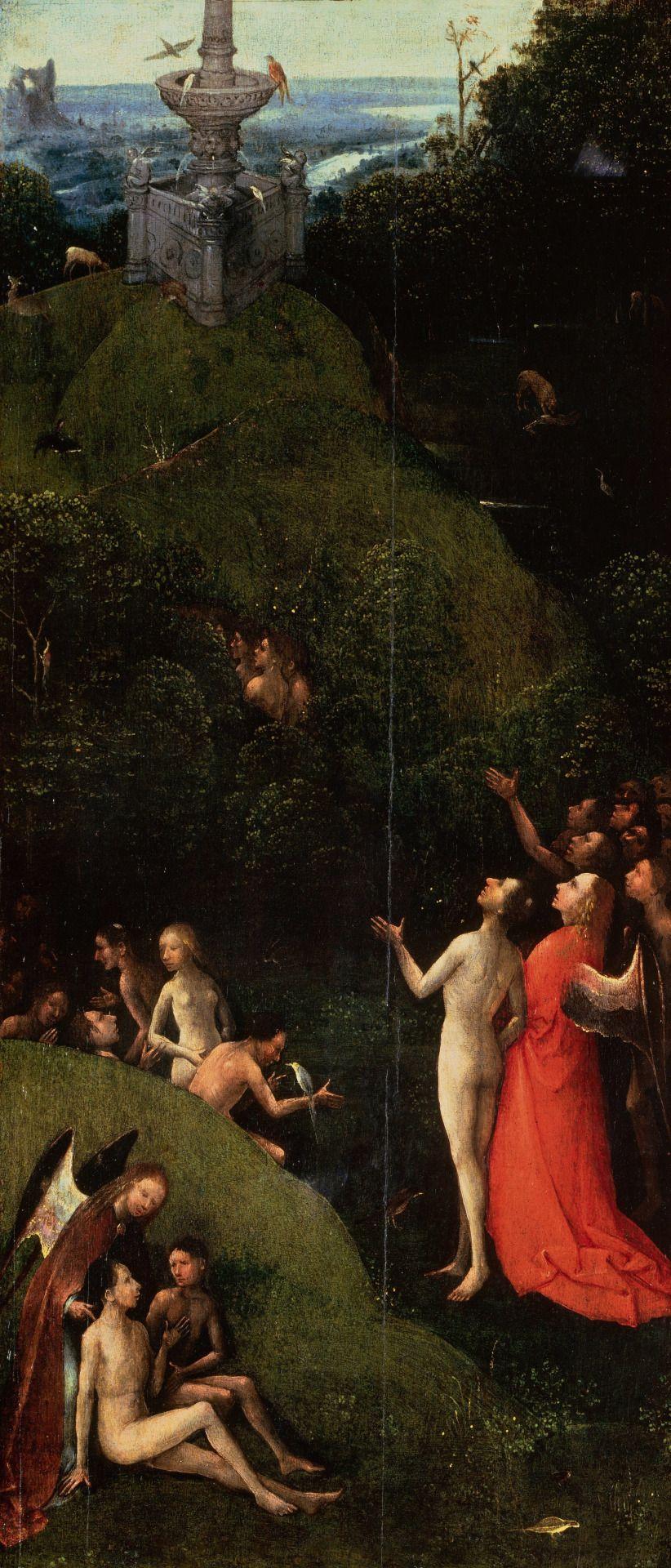 """magictransistor: """" Hieronymus Bosch. Terrestrial Paradise. 1490. """""""