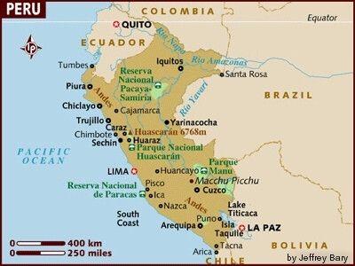 Lake Titicaca Peru Lake Titicaca Map Lake Titicaca Weather - Peru major cities map
