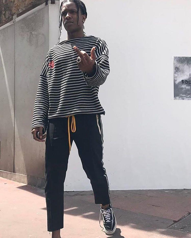868969d7 ASAP Rocky Wears Vans Old Skool: 8 of His Best Outfits ...