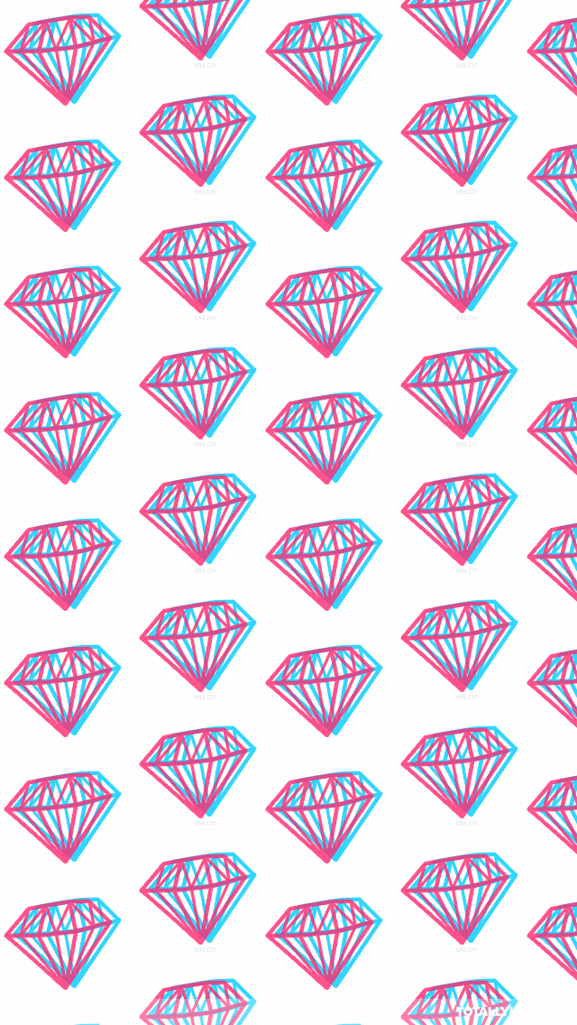Download 3d Diamonds Iphone Wallpaper Diamond Wallpapers Iphone Wallpaper Hipster Hipster Wallpaper Diamond Wallpaper