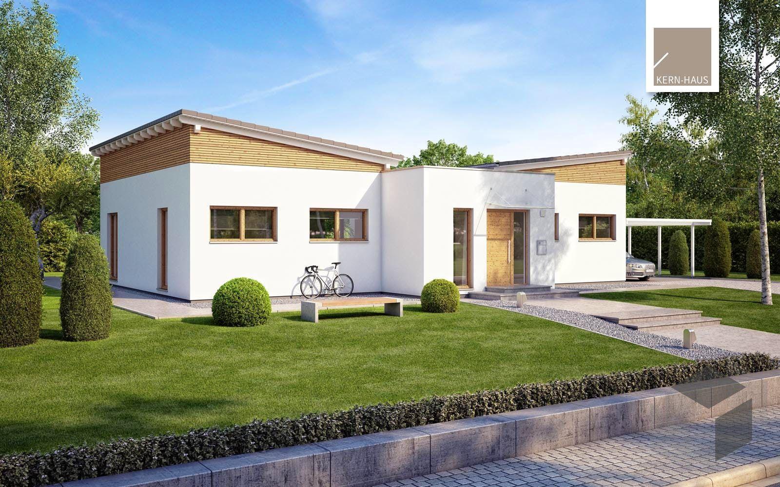 Bungalow Fokus von KernHaus Alle Haustypen Hausgrundrisse