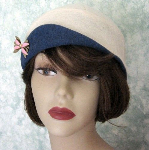 vintage womens hats | SEWING PATTERN Vintage Hat Pattern Flapper ...
