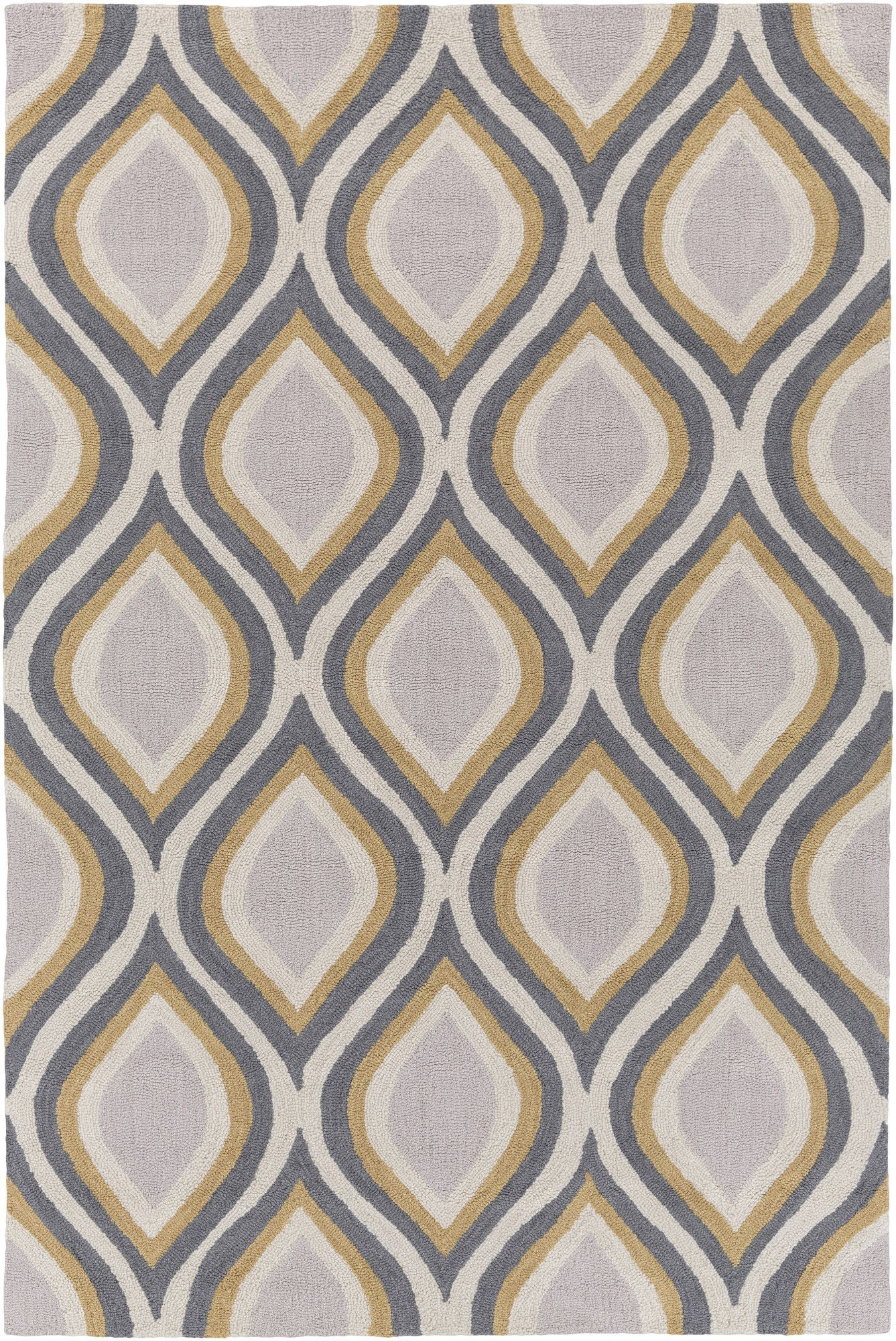 Holden lucy gray area rug