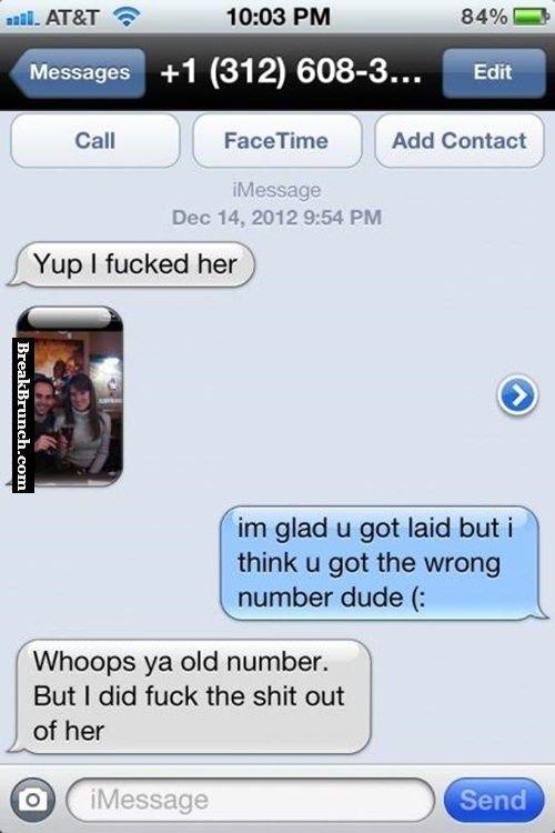 Congrats you got laid dude - http://breakbrunch.com/funny-picture-2871