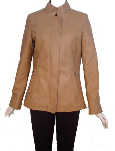 Nettailor Women 4089 REAL FUR LINED Lambskin Leather Casual Jacket FREE tailoring if your body does not fit standard size. Detachable fur liner. Anti rust, anti oxidized, anti corruptible zipper, snap, eyelet and rivet. Taping all seams to prevent from stretch. Best quality fusing on all part.  #NETTAILOR #Apparel