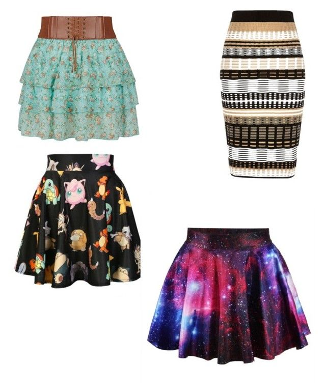 """""""Vote For which one you like"""" by i-love-anime101 ❤ liked on Polyvore featuring River Island and O-Mighty"""