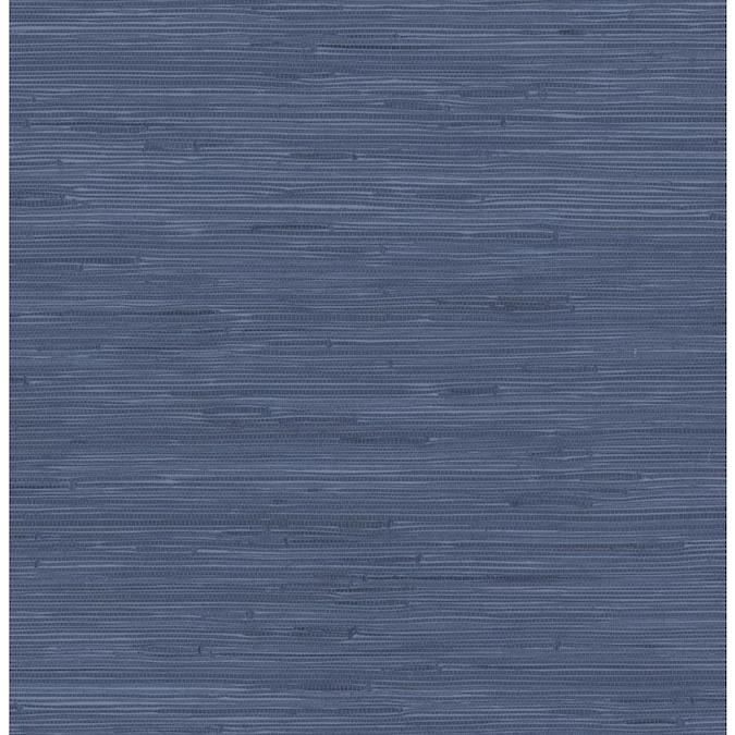 Scott Living 30 75 Sq Ft Indigo Vinyl Textured Abstract 3d Self Adhesive Peel And Stick Wallpaper Lowes Com Peel And Stick Wallpaper Peal And Stick Wallpaper Grass Wallpaper