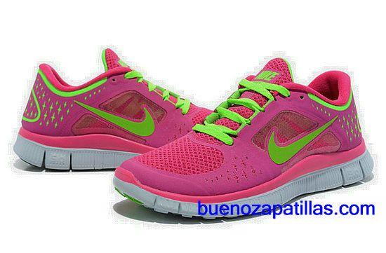nike free run 3 mujer