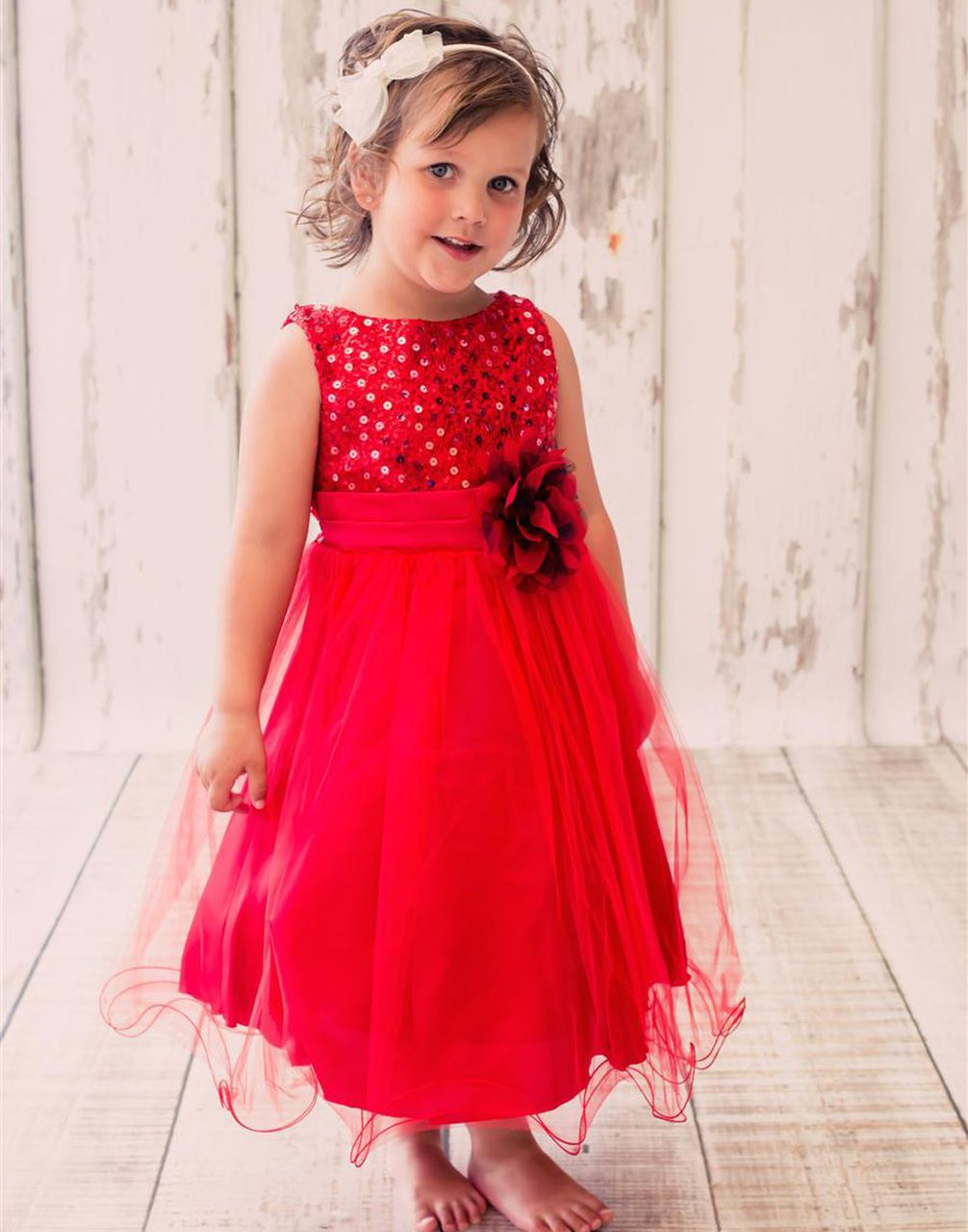 Glittery sequined bodice and double layered mesh dress dresscouture
