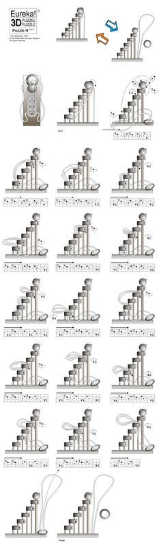 Solution Du Casse Tete Model H Eureka Solutions To Puzzles