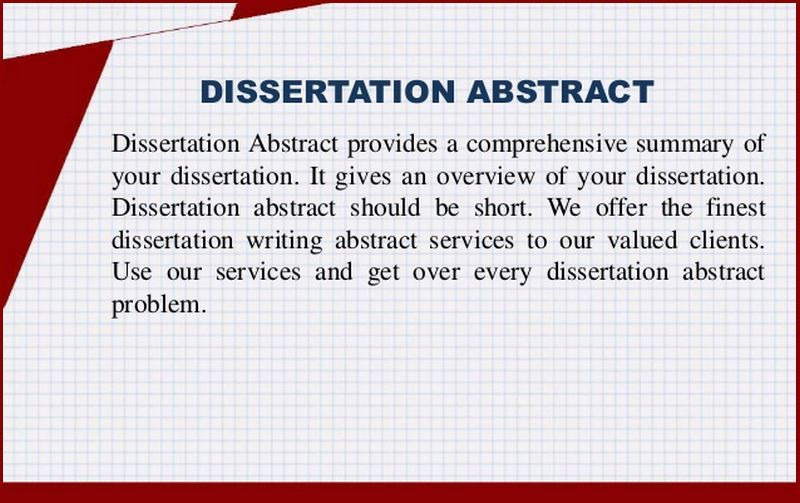 Dissertation Abstract Introduction And Proces Writer Uk Writing Service