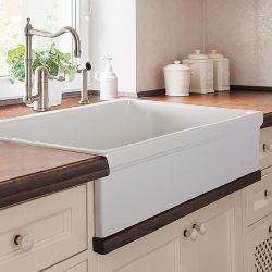 Lenova Fireclay Farmhouse Kitchen Sinks Farmhouse Sink Kitchen