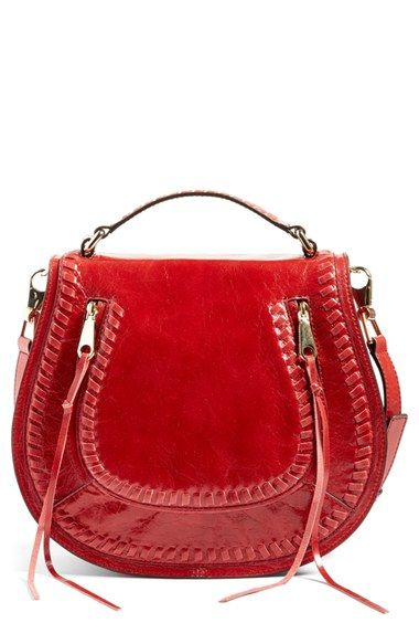 Free shipping and returns on Rebecca Minkoff Vanity Saddle Bag at Nordstrom.com. Chunky whipstitching traces the saddle-inspired flap of a cool crossbody bag crafted from distressed leather and finished with signature swinging zip-pull tassels. A removable crossbody strap allows you to seamlessly switch up your look, adding other fun straps from your personal collection.