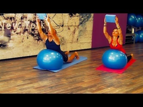 full hatha yoga video class for the back shoulders and