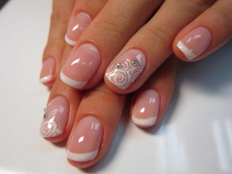 Nail Designs Gel Nails French Manicure And Pedicure Mani Pedi Salons Solar Natural Super Easy Art Hollywood