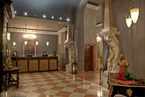 "A member of ""The Leading Hotels of the World,"" the Due Torri Hotel is a five-star hotel in Verona, Italy, which originally served as a 14th century palace to the Della Scalla family."