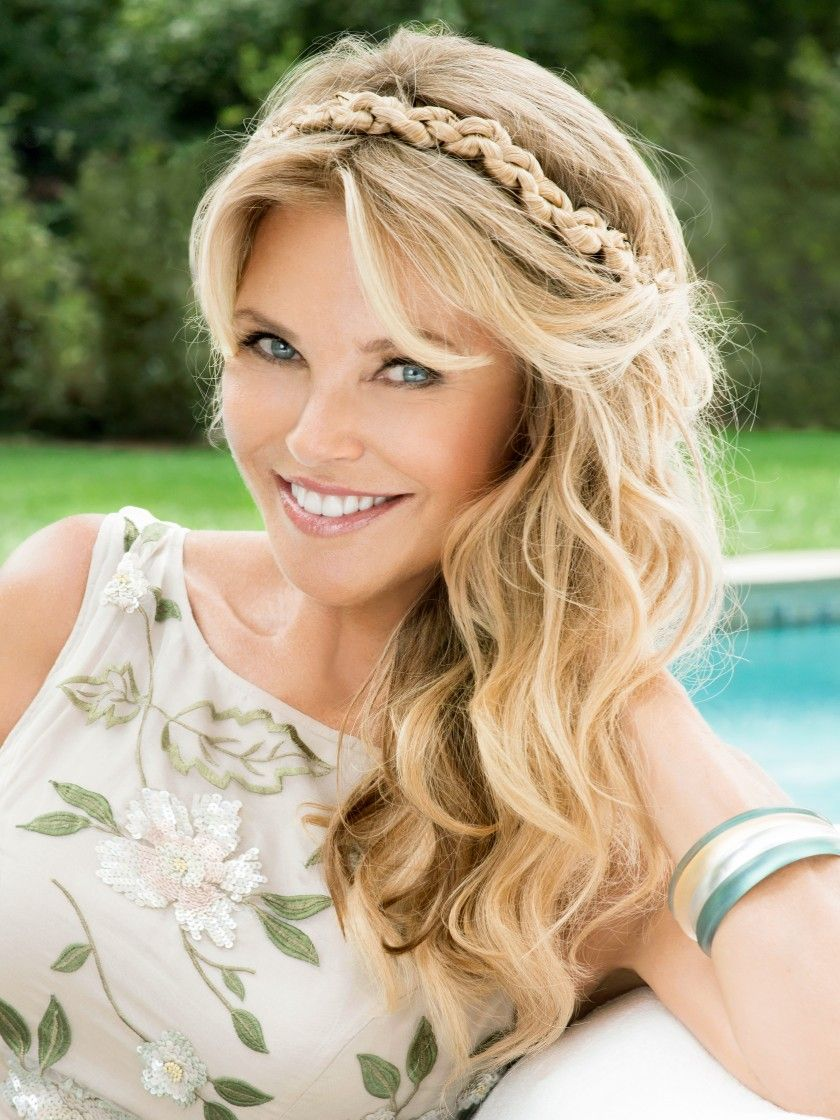 Clip In 16 Inch Hair Extension Light Blonde Christie Brinkley