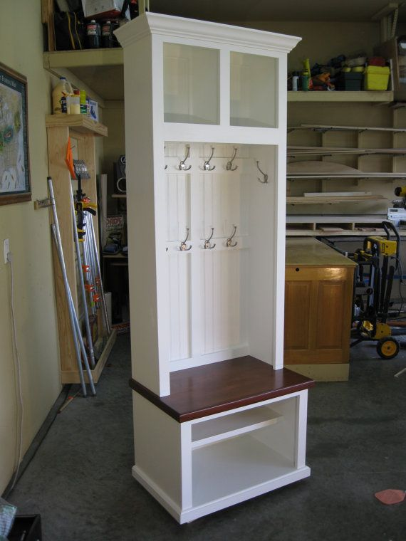 29 Wide Entryway Furniture Mudroom Cabinet Hall Tree With Bench
