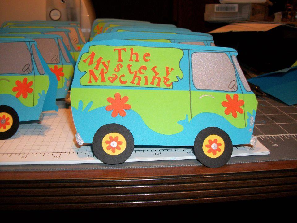Scooby Doo Invites | Trish\'s Custom Creations | Pinterest | Birthdays