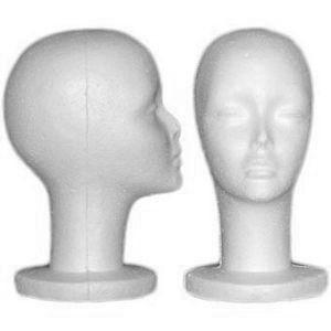 Amazon.com: SHANY Cosmetics Female Styrofoam Head, 12 Inches, 4 Ounce: Beauty