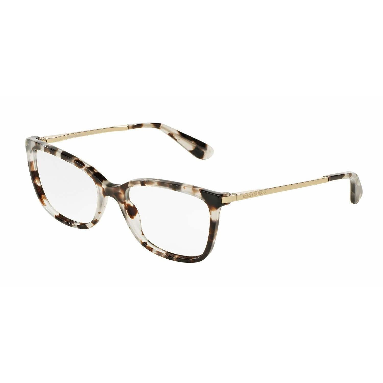 Dolce & Gabbana Womens DG3243 2888 Grey Square Eyeglasses   Products ...